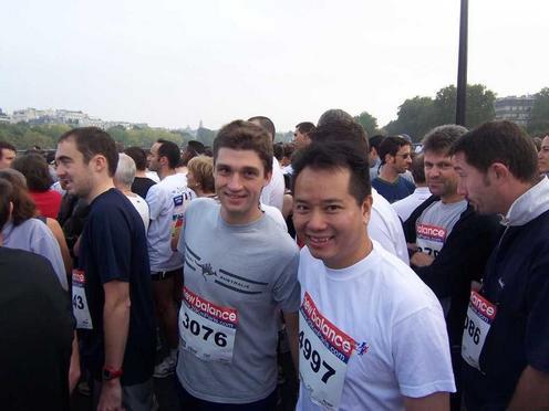 Pierre-marc giao duong huynh inzesentier 20 km paris 2006
