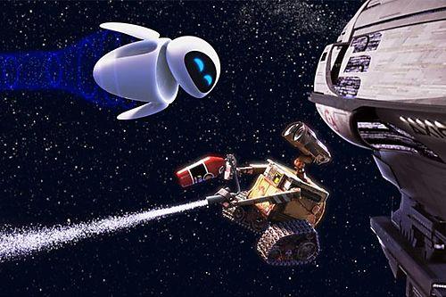 Wall-e eve pixar inzesentier giao