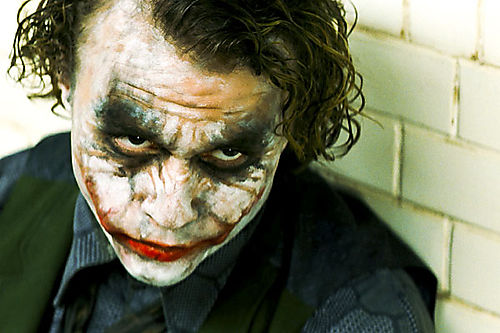 Heath ledger le joker the dark knight