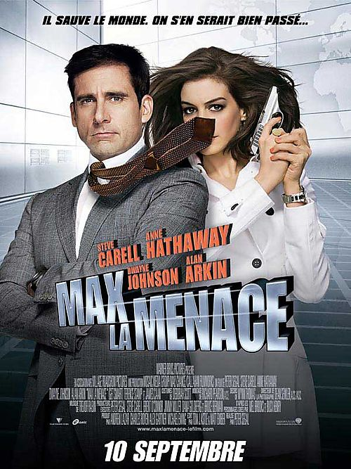 Steve carrel anne hathaway max la menace