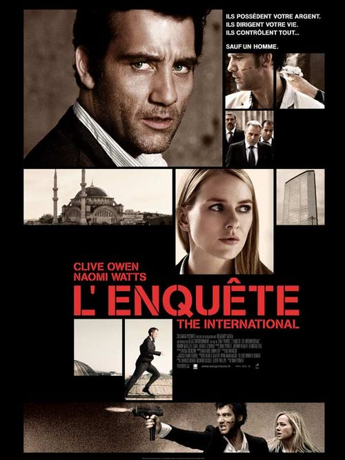 L'enquete the international clive owen naomi watts tom tykwer