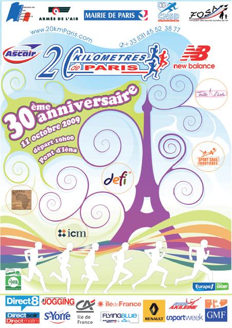 20KmDeParis_Affiche2009