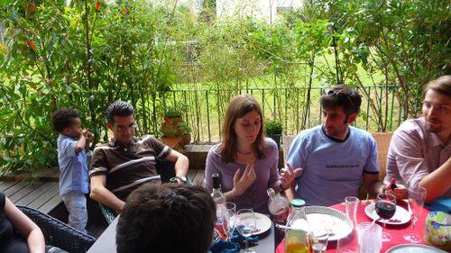 BBQ Celine et nicolas Charenton 14 juillet 2009 01