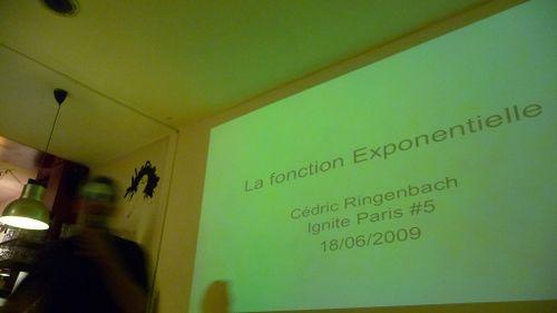Cedric ringenbach la fonction exponentielle