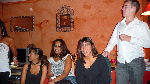 Soiree rock chez fouzia a chatillon le 29 aout 2009