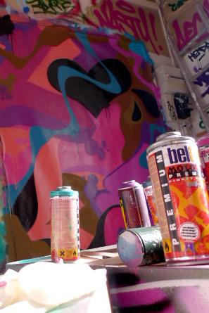 Nasty galerie bailly bombe peinture