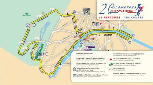 Parcours 20 km 2009