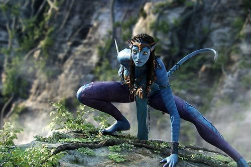 Zoe saldana avatar