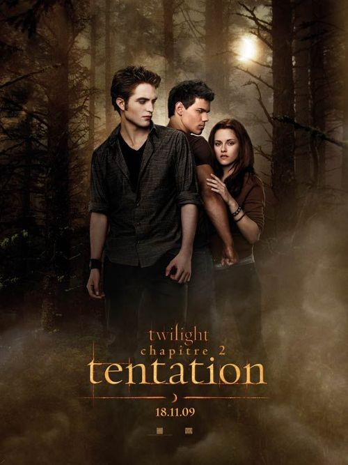 Twilight 2 tentation robert pattinson kristen stewart chris weitz taylor lautner