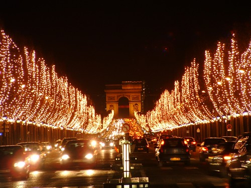 Champs elysees noel