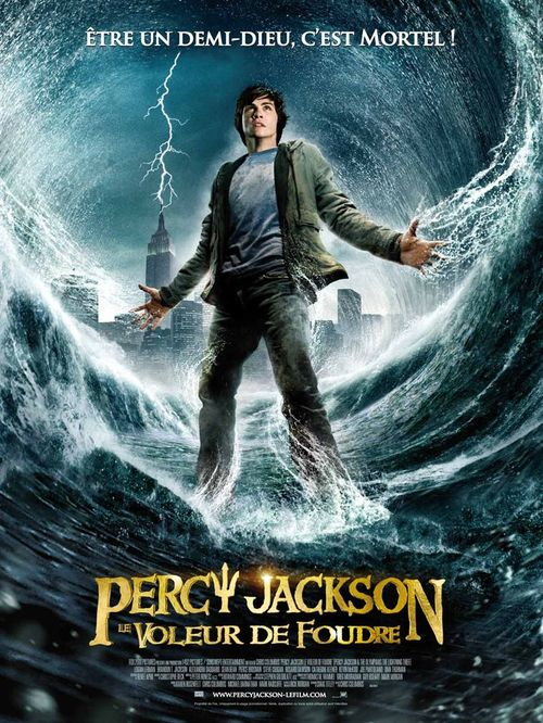 Percy jackson le voleur de foudre chris colombus pierce brosnan uma thurman