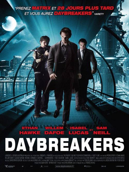 Daybreakers ethan hawke willem dafoe sam neill michael peter spierig