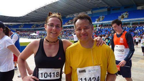 Reading Half Marathon 2010 giao fanny 001