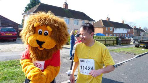 Reading Half Marathon 2010 giao fanny 006