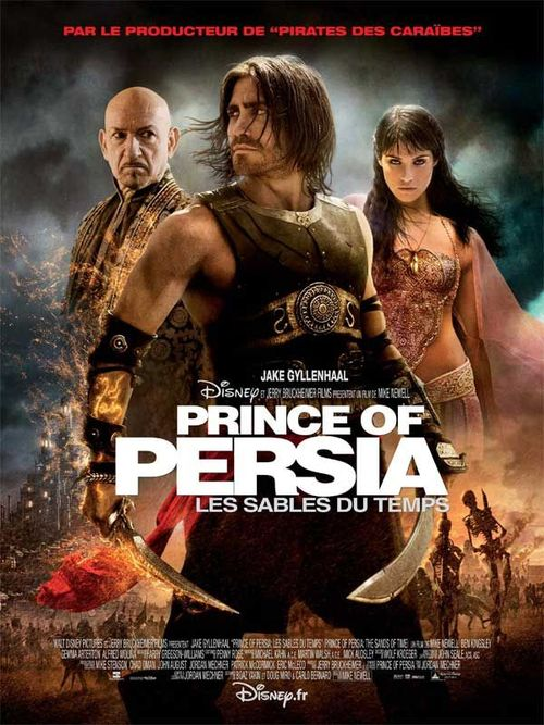 Prince of persia les sables du temps mike newell jake gyllenhaal gemma arterton