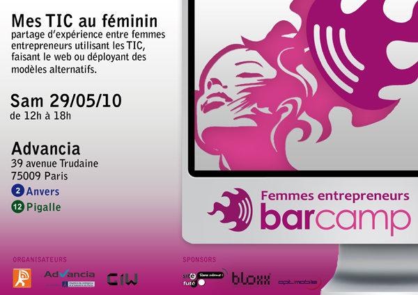 Barcamp femmes entrepreneurs