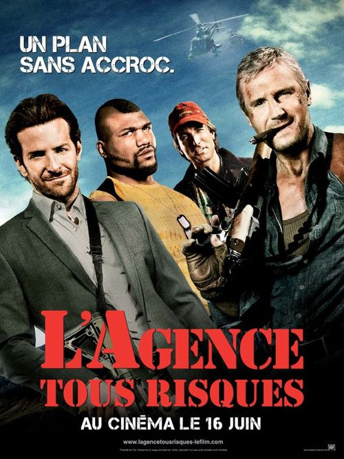 L'agence tous risques liam neeson bradley cooper sharlto copley quinton rampage jackson joe carnahan