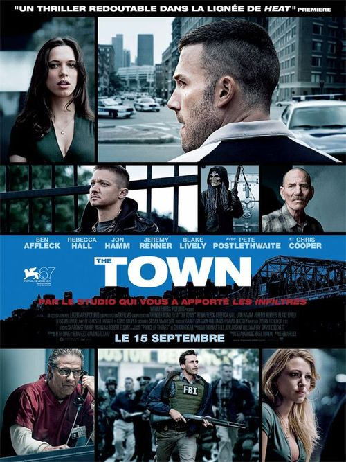 The town ben affleck rebeca hall jeremy renner blake lively chris cooper