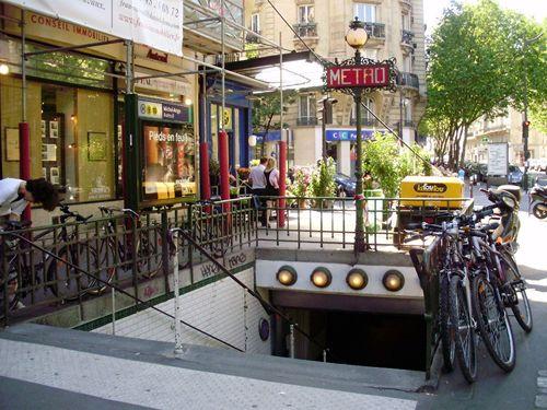 Michel-Ange_-_Auteuil_entrée_métro