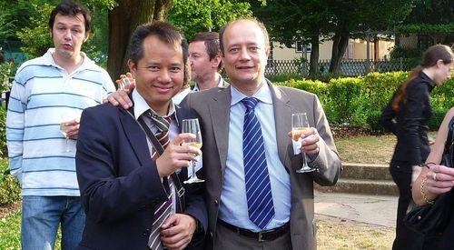 Garden Party Stade Francais benoit martin