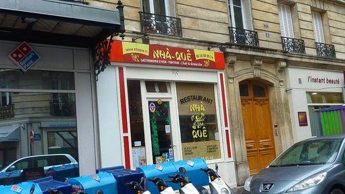 Eric Vo Van Restaurant Nha Que Village d'Auteuil 001