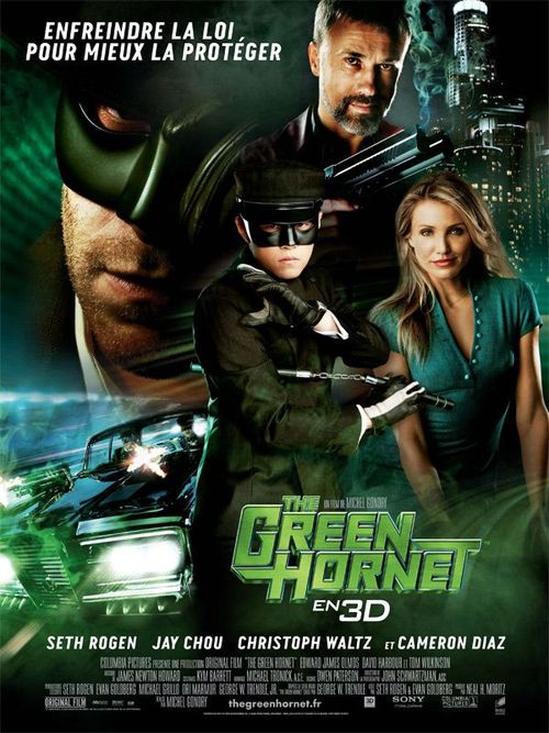 The green hornet seth rogen jay chou cameron diaz