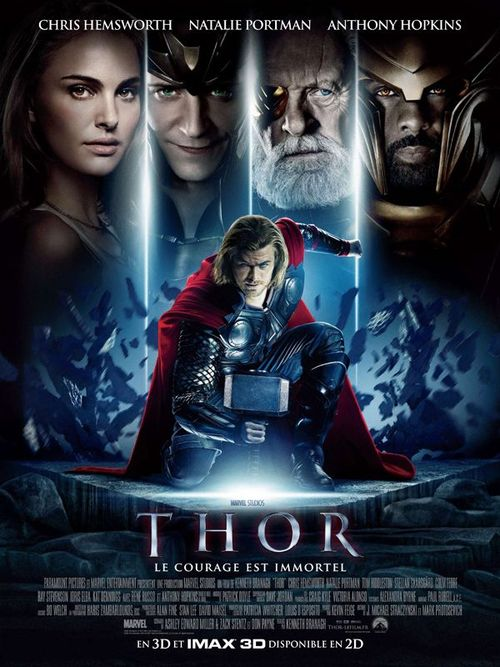 Thor chris hemsworth natalie portman kenneth branagh anthony hopkins