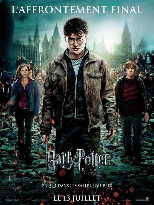 Harry potter les reliques de la mort partie 2 daniel radcliffe emma watson david yates rupert grint