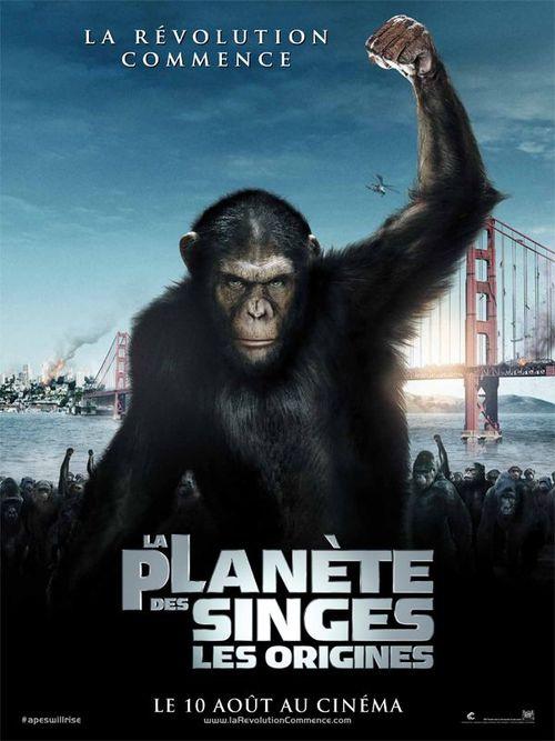 La planete des singes les origines rupert wyatt james franco freida pinto