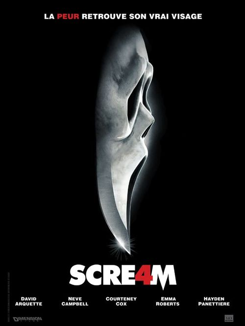 Scream 4 wes craven neve campbell courteney cox david arquette