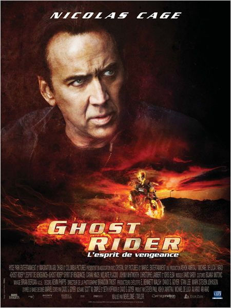 Ghost rider l'esprit de vengeance nicolas cage