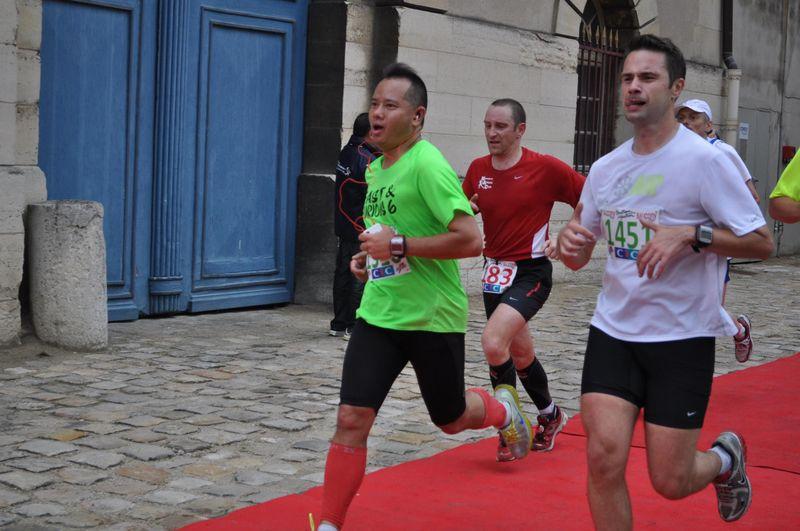 Course du Château de Vincennes arrivée Stephane Stutz Nicolas Kowalski 03 juin 2012