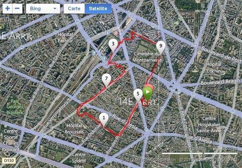 10 km du 14ème parcours