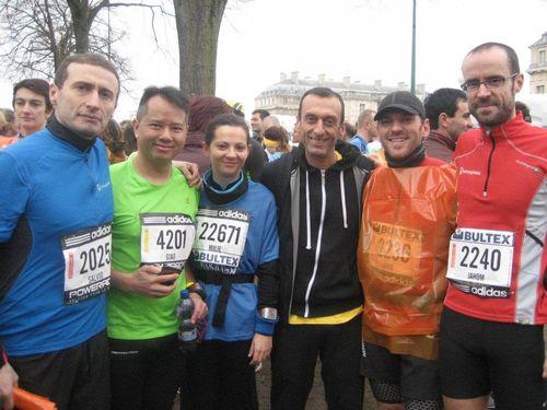 Runnosphère semi de paris 2012