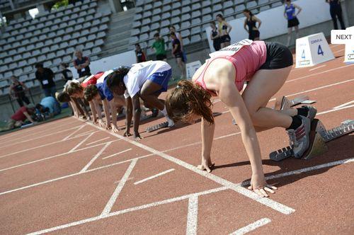 CMDGE 2012 100m feminin