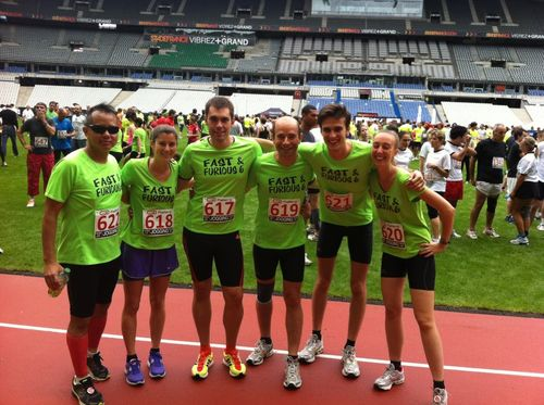 Fast and Furious Crazy Jog 8 juillet 2012