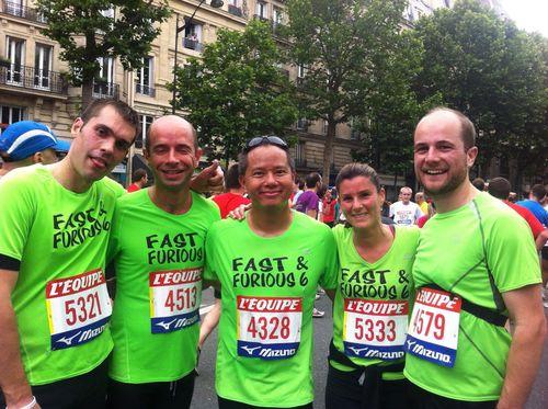 10 km de L'Equipe Fast and Furious Gebrejeje Tigrou Special K El Gerrouj Pascal Rousseau