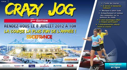 Crazy jog 2012