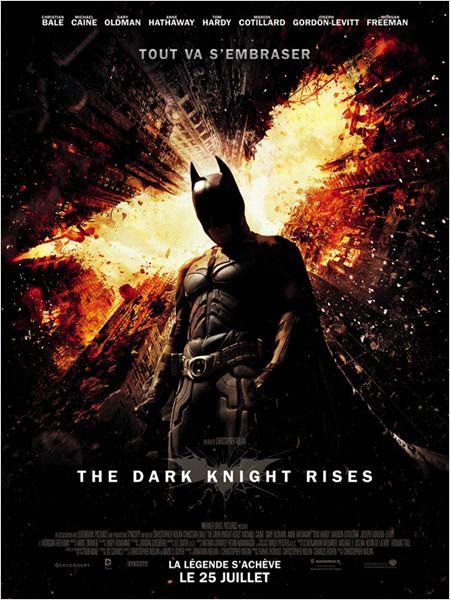 The dark knight rises christopher nolan christian bale