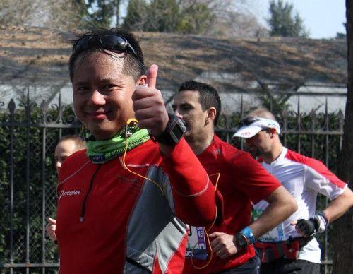 Marathon de paris giao tigrou anny anais keldai 2013