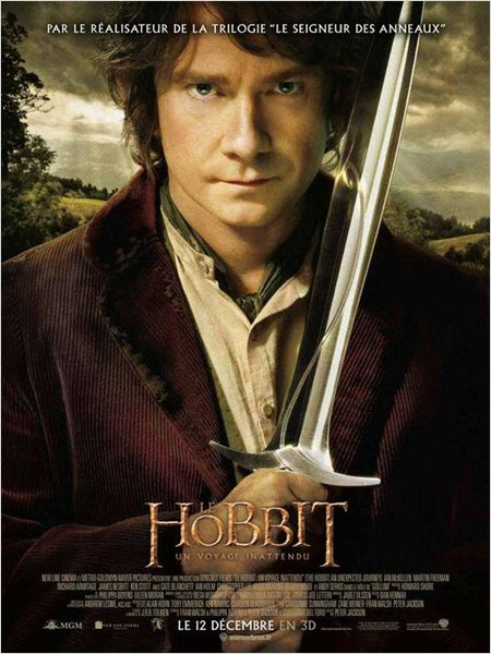 Le hobbit un voyage inattendu peter jackson martin freeman