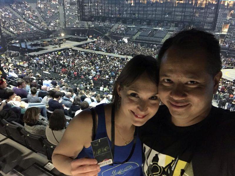 20151209_Concert U2 Amandine Giao inZeSentier AccorHotels Arena